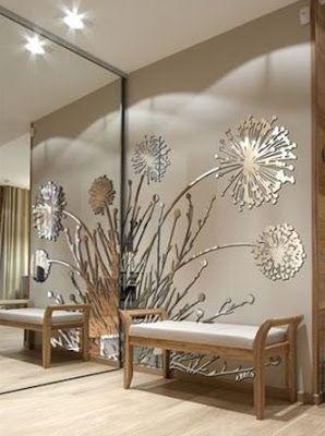 40 Modern Wall Mirror Design Ideas For Home Wall Decor 2019 Decor Home Wall Decor Wall Decor