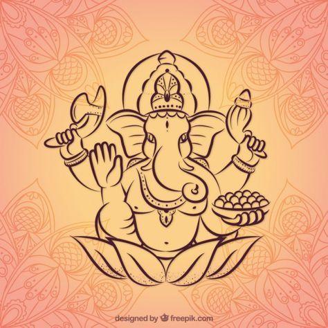 Baixe Desenho Fundo Ganesha Gratuitamente Desenho Ganesha
