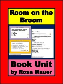 Room On The Broom Book Unit Room On The Broom Comprehension Questions Broom