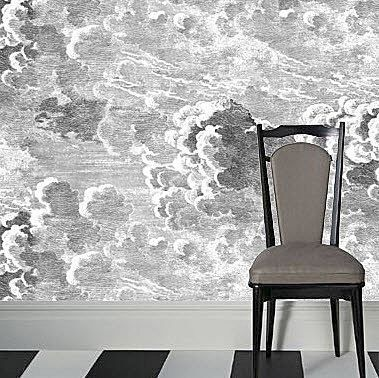 Nuvole By Fornasetti Is A Unique Pattern That Evokes Antique