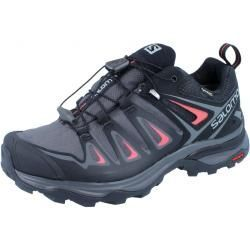 red shoe Salomon X Ultra 3 Gtx W magnetblackmineral red