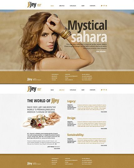 jewelry website template new website templates pinterest