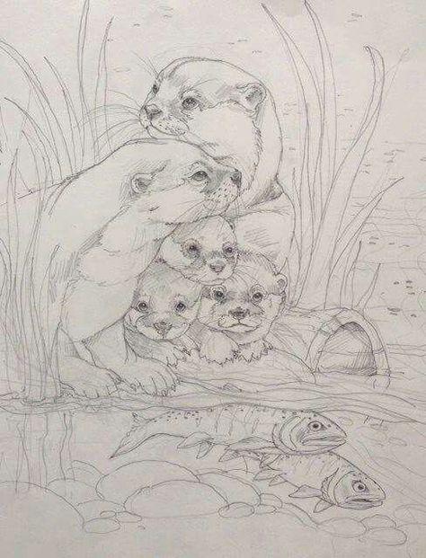 Malvorlagen Natur ausmalbilder Coloring book art Animal