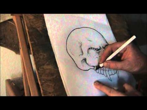 Drawing Japanese Finger Waves with Jeff Gogue - TattooNOWTV Channel - YouTube