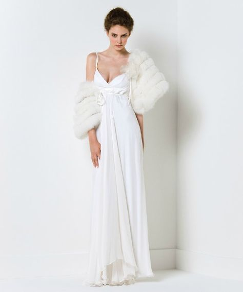 gowns with fur - Google Search