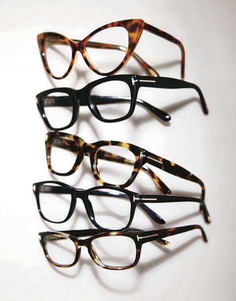 Les lunettes de vue Tom Ford