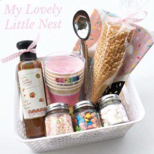 Just Add Ice Cream Hampers - My Lovely Little Nest