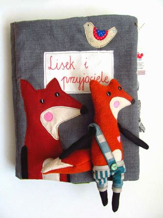 Agata's Fox Quiet Book