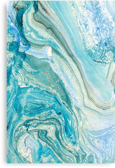 Turquoise Blue Green Liquid Marble Abstract Artwork Metal Print By Newburyboutique Abstract Artwork Abstract Artwork