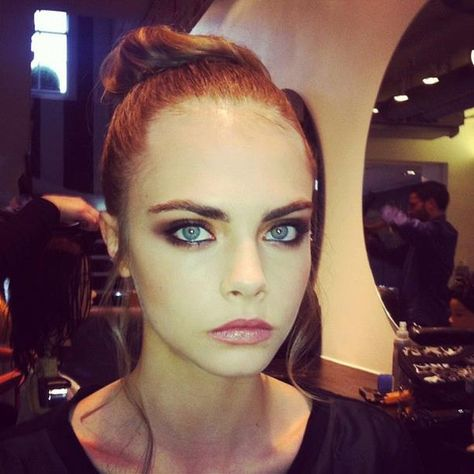 Cara Delevingne 💎 beautiful eye make-up
