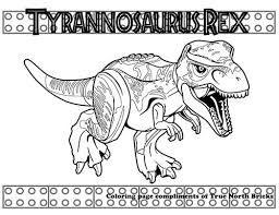 Coloring Page Carnotaurus True North Bricks Dinosaur Coloring Pages Lego Coloring Pages Lego Jurassic World