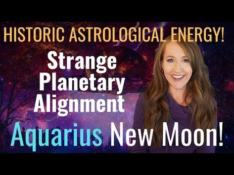 THE REVOLUTION IS HERE! New Moon in Aquarius—Strange Stellium! Weekly Forecast For ALL 12 SIGNS! - YouTube