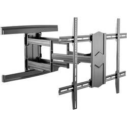 Cotytech CT-OS45-1S Adjustable Ergonomic Mobile TV Cart for 56-Inch to 70-Inch TVs with 1 Shelf