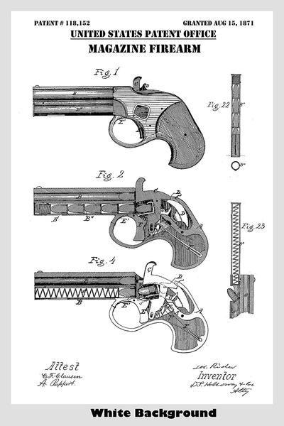 Remington Patent Leather Bow