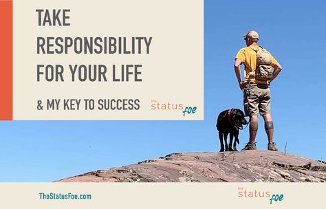 Take Responsibility for Your Life | Motivational Speech (MINDSET) - The Status Foe 🏆 In this video, I hop on my soapbox 🧼 and talk about taking responsibility for your life. If you are anything like the old me, you made excuses for every big change in your life. So you go back to living the same comfy cozy mediocre life 💤… yet you are still complaining about it. Yep, I used to do that too. 🤷🏻♀️ Not because I wanted to but because I thought that's how life just is.
