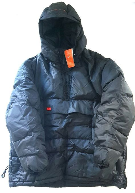 916af35ae Details about Nike Duck Down Fill Cagoule Jacket Winter Coat ...
