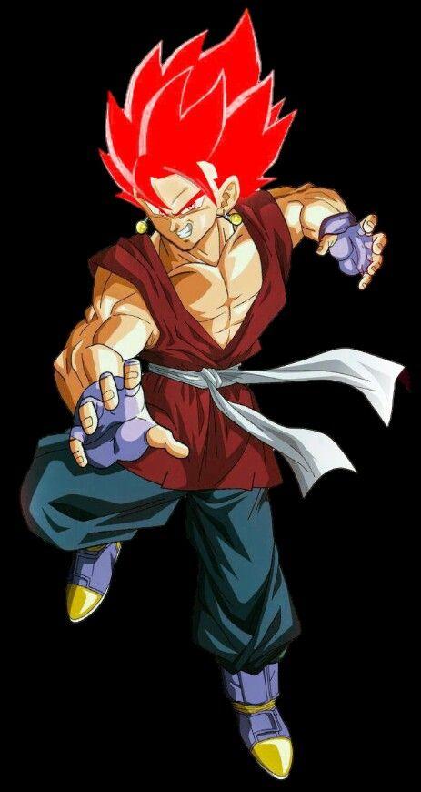 Vegetto Super Saiyan God Dragon Ball Gt Anime Dragon Ball Dragon Ball Super Manga Dragon Ball Z