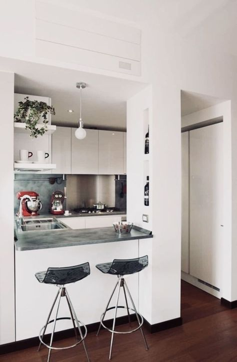 Five Popular Trends In Kitchen Remodeling |  Kitchen Remodel. Also consider getting home appliances that are energy star rated as this will help you recover a few of your cost gradually over time as you will be paying less for utilities. #renovate #Decoration
