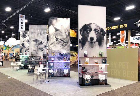 Woodruff Diamond Pet Foods Superzoo 2018 Design Tradeshow