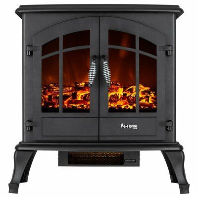 Millwood Pines Braaten Electric Fireplace Free Standing Electric Fireplace Electric Fireplace Stove Fireplace