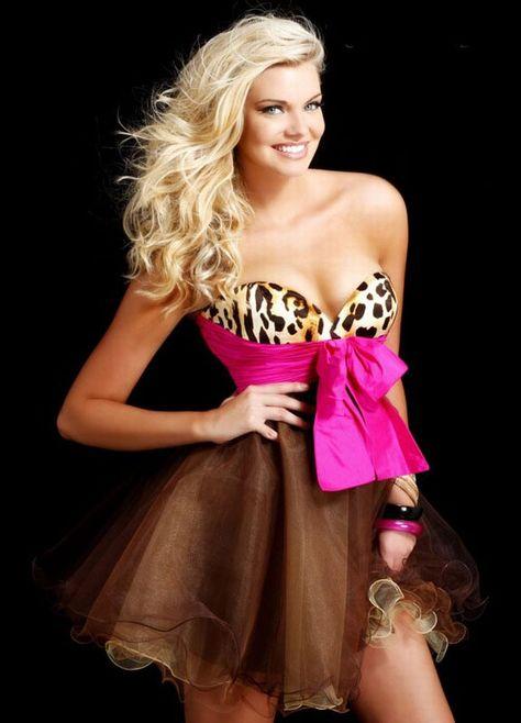 Short tutu prom dress style