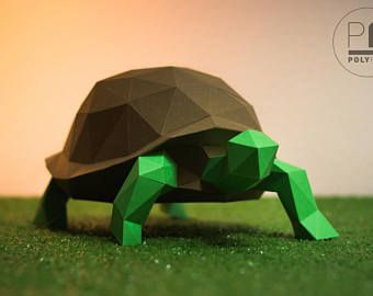 Green Sea Turtle Of Origami Stock Photo - Image of land, origami ... | 270x340