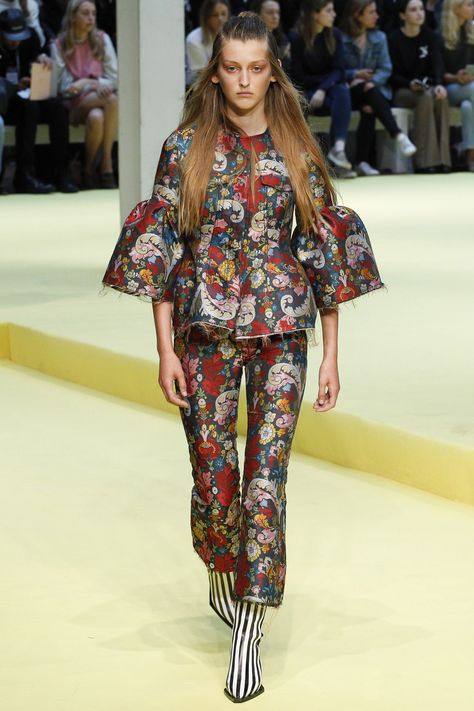 Chioma Nnadi, Vogue.com Fashion News Director - Marques ' Almeida closed out London Fashion Week with a bang—definitely one of my highlights of the season.