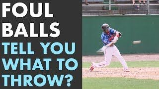 Video Thumbnail Foul Ball Pitchers What Does That Tell You Pitch Selection Talk And Examples Pitching Drills Baseball Tips Baseball Training