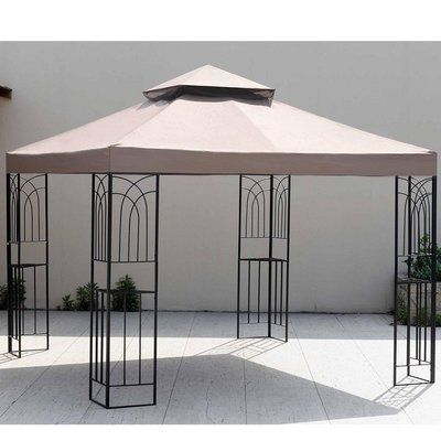 Sunjoy Replacement Canopy for 10u0027 W x 10u0027 D ...  sc 1 st  Pinterest & Sunjoy Replacement Canopy for 10u0027 W x 10u0027 D Opp Gazebo | D ...