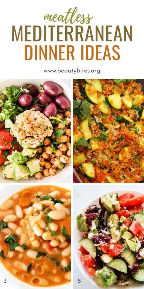 Easy Mediterranean Diet Recipes, Mediterranean Dishes, Dash Diet Meal Plan, Healthy Recipes, Dash Diet Recipes, Healthy Eating, Gluten Free Meal Plan, Med Diet, Skinny Ms