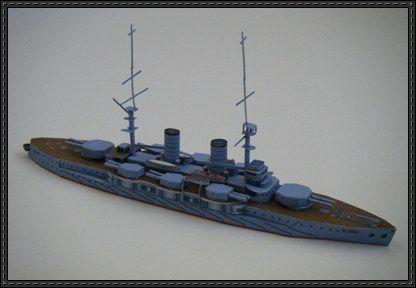 Japanese Battleship Satsuma Free Paper Model Download | paper ships