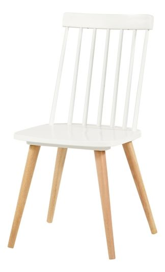 Chaise Ines Blanc Naturel Mobilier De Cuisine Chaise Table Et Chaises