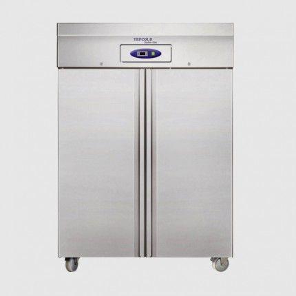 Tefcold Rf1010p Steel Double Doors Upright Freezer Double Doors
