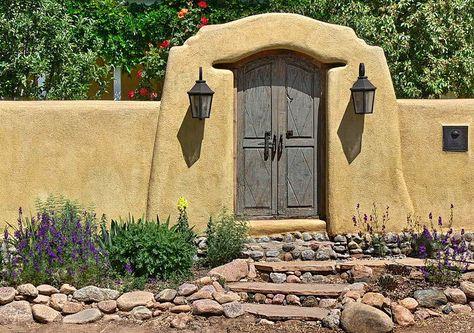 the perfect santa fe front door!