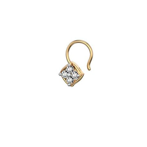 DTJEWELS Hanger Harnovan Pendant W//18 Chain 14K Gold Plated .925 Silver 0.4 Carat Round Sim Diamonds