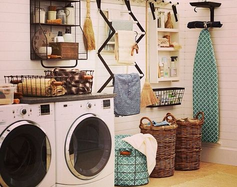 Pottery Barn Organization For The Laundry Room Laundry In