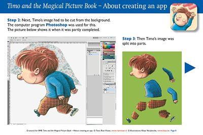 In this presentation you will learn all about making an iPad app from the picture book Timo and the Magical Picture Book. What is an app? What is a digital book? How do you make animated cartoons? How can you create your own animations?