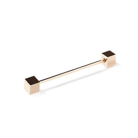 Forestner Collar Clip Vintage Gold Tone Collar Bar Art Deco Collar Bar Gold Filled Collar Bar