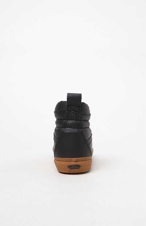 a6f2585af9 Vans Weatherized Sk8-Hi Mte Black   Gum Shoes - 9