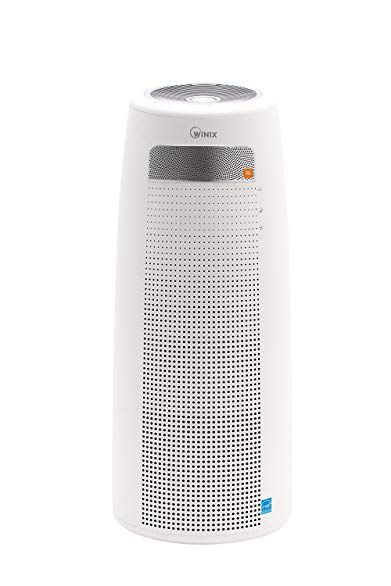 Winix Qs With Jbl Speakers Bluetooth And 4 Stage Tower Air Purifier Length 12 2 X I 12 2 X I 29 5 White Review Tower Air Purifier Jbl Speakers Bluetooth Air Purifier