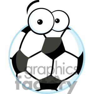 Soccer Ball With Cartoon Eyes Clipart Royalty Free Clipart 379713 Soccer Ball Soccer Kids Soccer