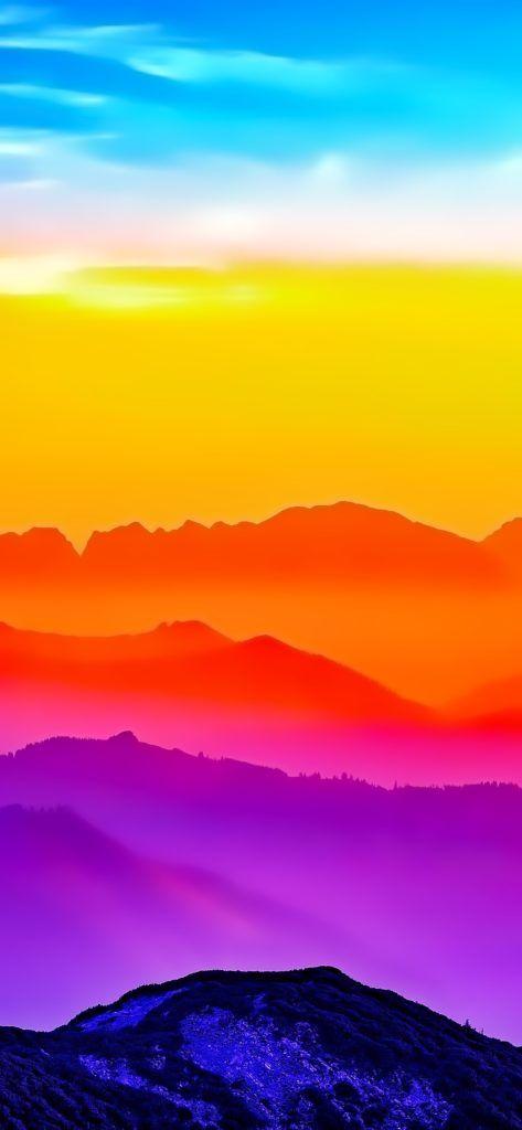 خلفيات آيفون Sunset Iphone Wallpaper Colorful Wallpaper Ombre Wallpaper Iphone
