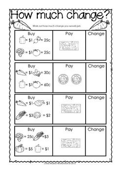 Canadian Money Worksheets Printables By Olivia Walker Tpt Money Worksheets Canadian Money Money Math Worksheets Kindergarten worksheets canada