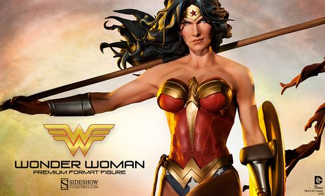 Wonder Woman Premium Format Figure Preview http://www.toyhypeusa.com/2014/02/08/wonder-woman-premium-format-figure-preview-2/