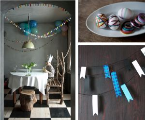 washi tape style - love love love the bunting!
