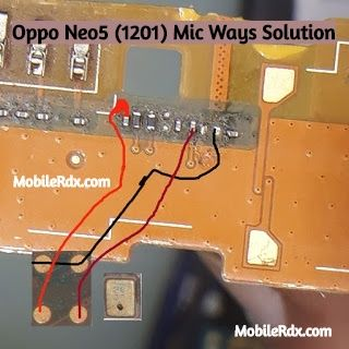 Oppo Neo5 1201 Mic Ways Mic Problem Jumper Solution Smartphone Repair Iphone Repair Phone Solutions