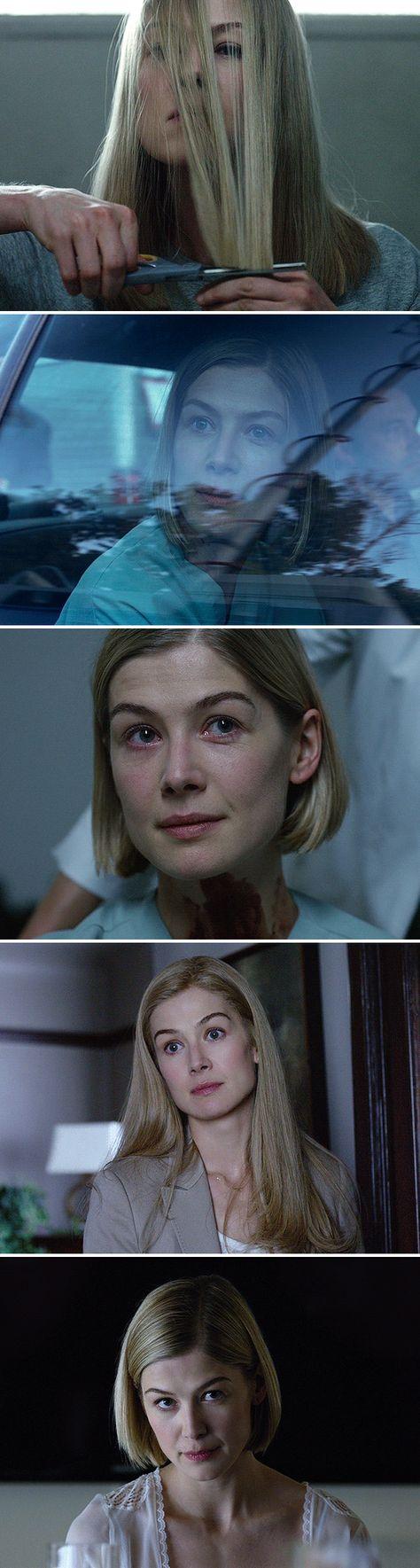 Rosamund Pike as Amy Dunne Gone Girl (2014) dir. David Fincher
