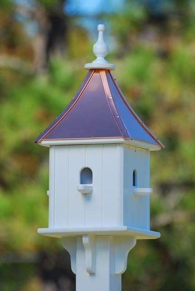Copper Roof Purple Martin House Bird House Plans Bird House