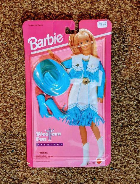 Barbie Doll Western Wear Etsy In 2021 Barbie Dolls Barbie Barbie Clothes