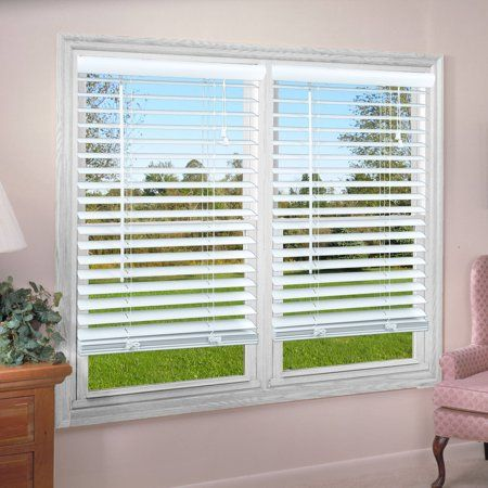 Regal Estate 2 Premium Vinyl Blind White Moderndecor Vinyl Blinds White Window Treatments Blinds